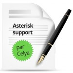 Illustration contrat asterisk support par Celya